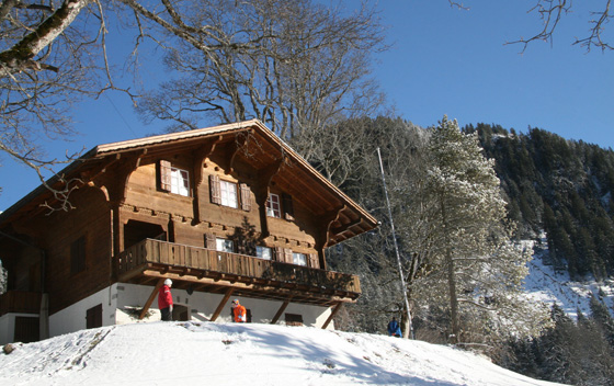 Chalet teufi sac bern clubhaus f r ski wander bike for Wanders chalet